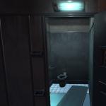narrow cell - no window