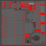unwrapped UVs