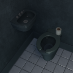 cell toilet - max security style