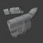 low-poly, unwrapping & textures