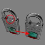 fingerprint padlock texture improvement