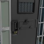 cell door hatch closed