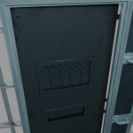 cell door from the inside