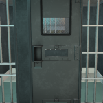 cell door progress - first paint draft