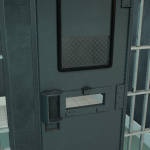 cell door progress - monochrome