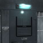 early texture test of the cell lamp